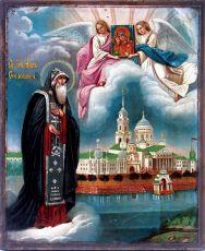 Икона Нил Столбенский преподобный