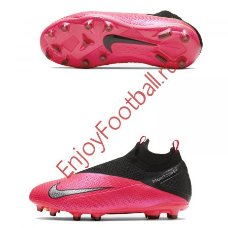 ДЕТСКИЕ БУТСЫ NIKE PHANTOM VSN 2 ELITE DF FGMG CD4062-606 JR