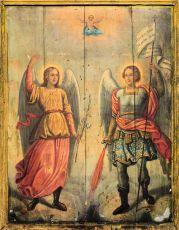 Икона Михаил и Гавриил архангелы