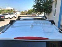 Багажник на Honda CR-V 2012-..., Turtle Air 3, аэродинамические дуги (серебристый цвет)