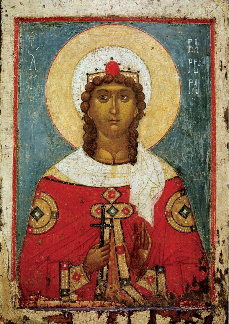 Икона Варвара мученица