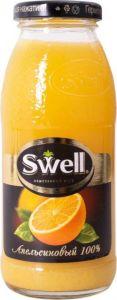 Соки SWELL апельсин 0,25 л, шт