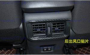 Окантовка воздуховода для задних пассажиров, цвет карбон