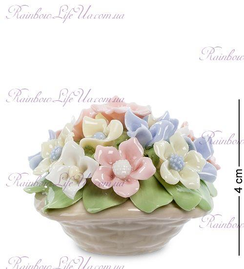 """Композиция Горшочек с цветами """"Pavone"""""""