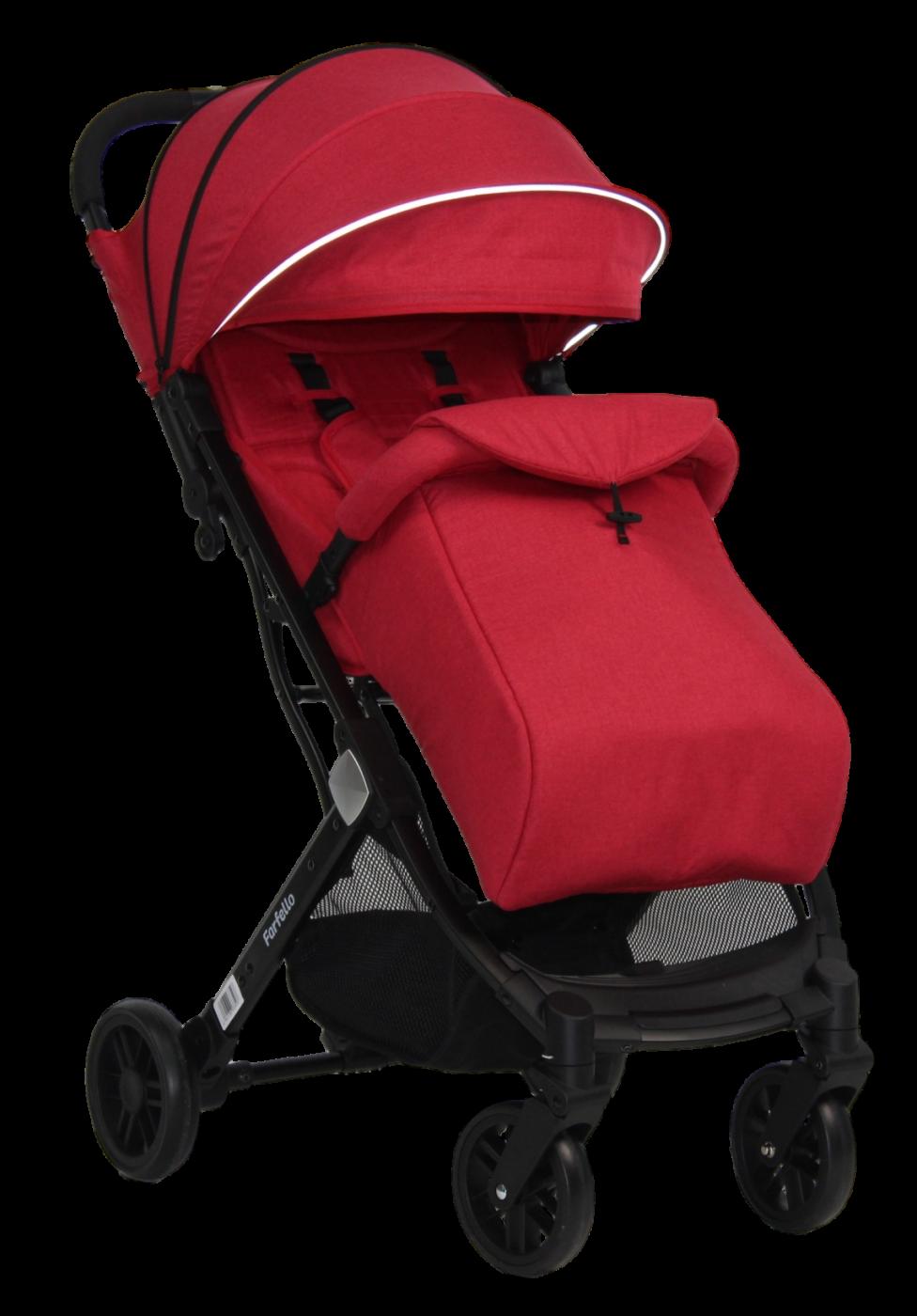 Коляска детская прогулочная Farfello Comfy Go Red/ красный