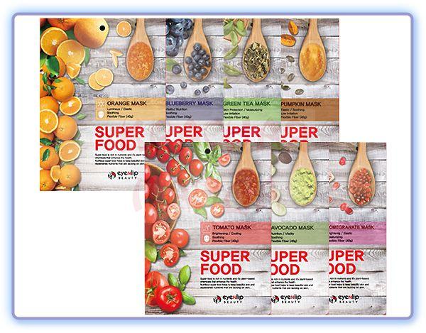 Тканевая маска для лица Eyenlip Super Food Mask (7 видов)