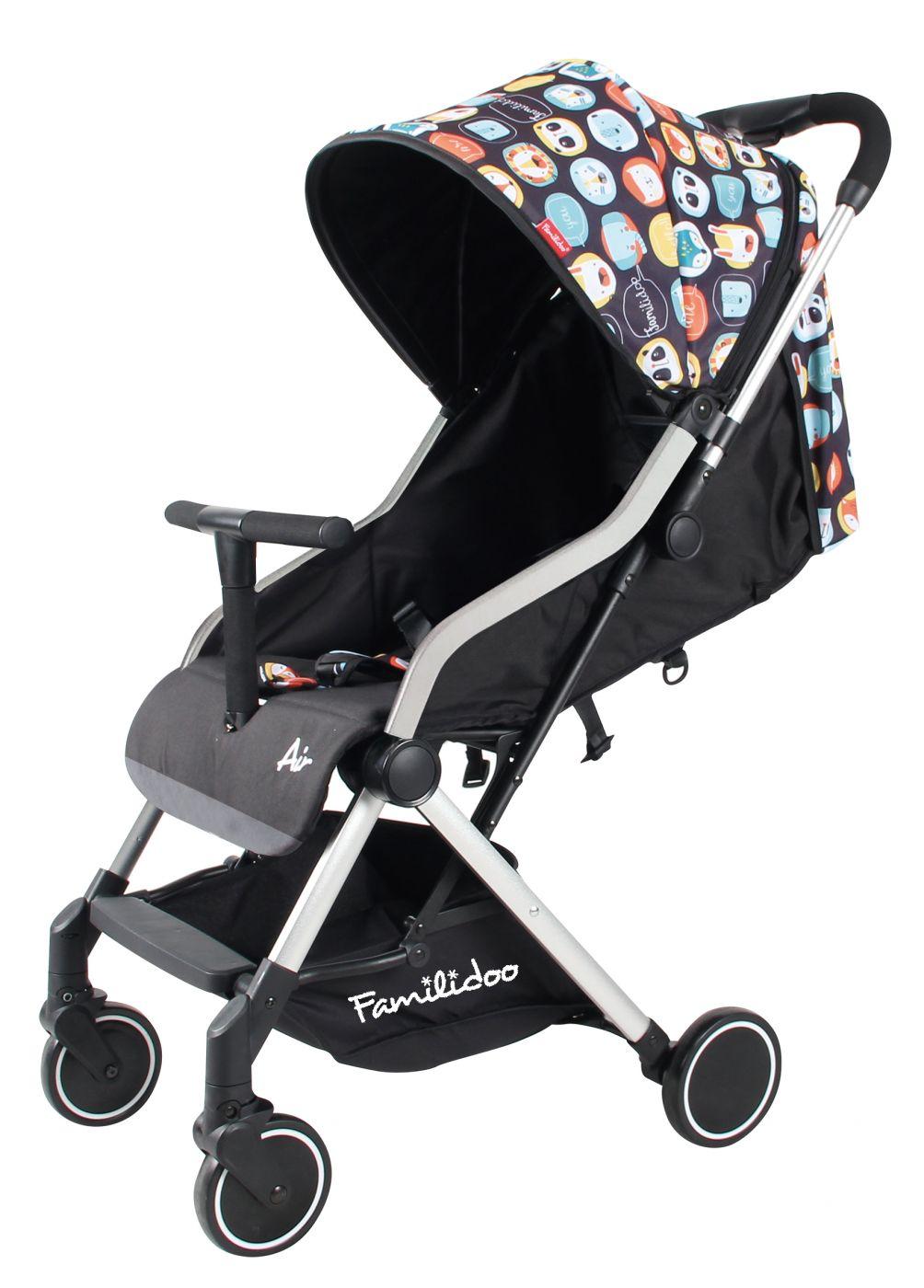 Коляска детская прогулочная Familidoo Air301LR  чёрный