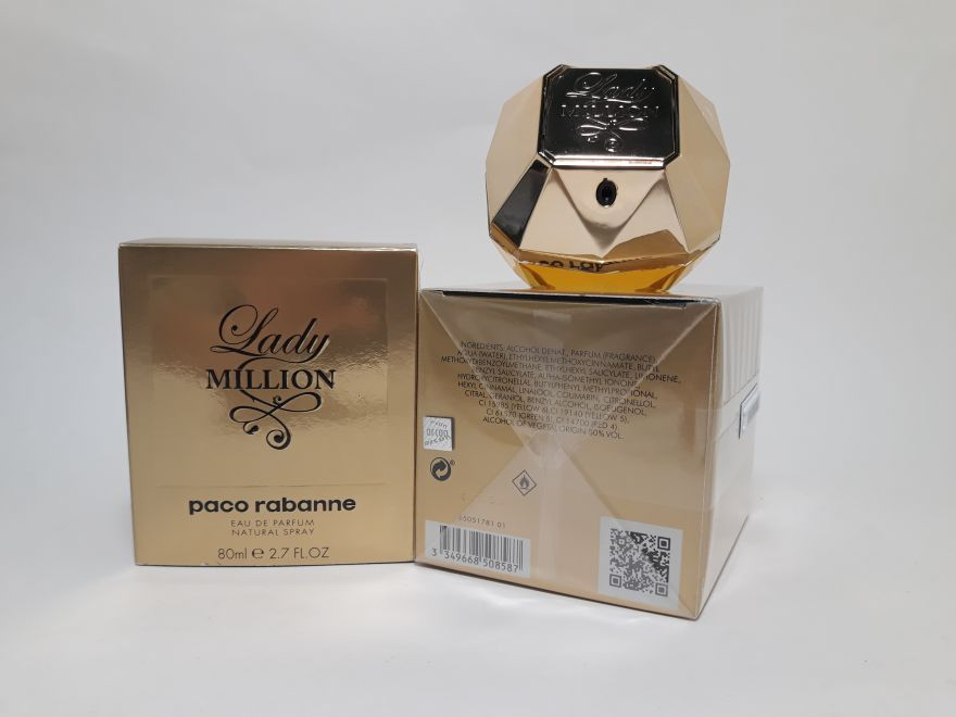 Paco Rabanne Lady Million 80 мл