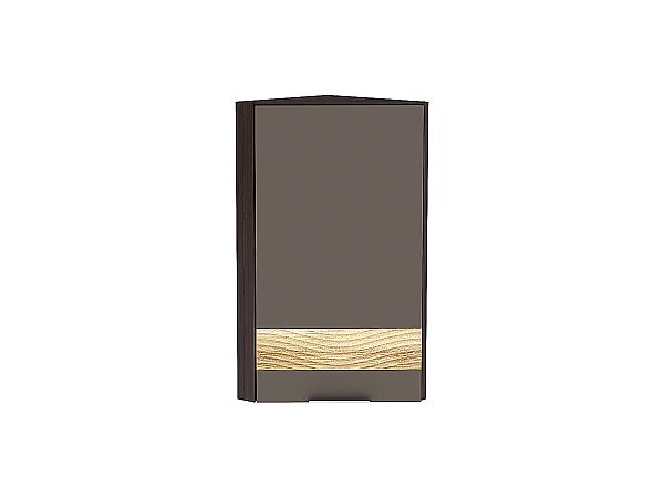 Шкаф верхний торцевой Терра ВТ230H D (Смоки софт)