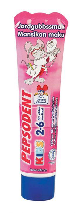 Зубная паста для детей 2-6 лет PEPSODENT KIDS 50 мл