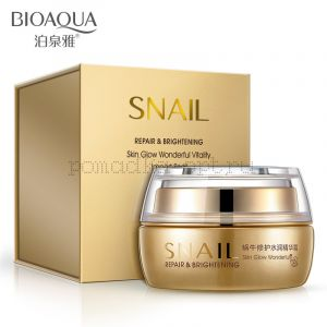 Крем с улиточным муцином SNAIL repaire&brightening