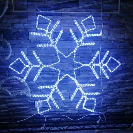Светодиодный Led мотив «Снежинка-10»