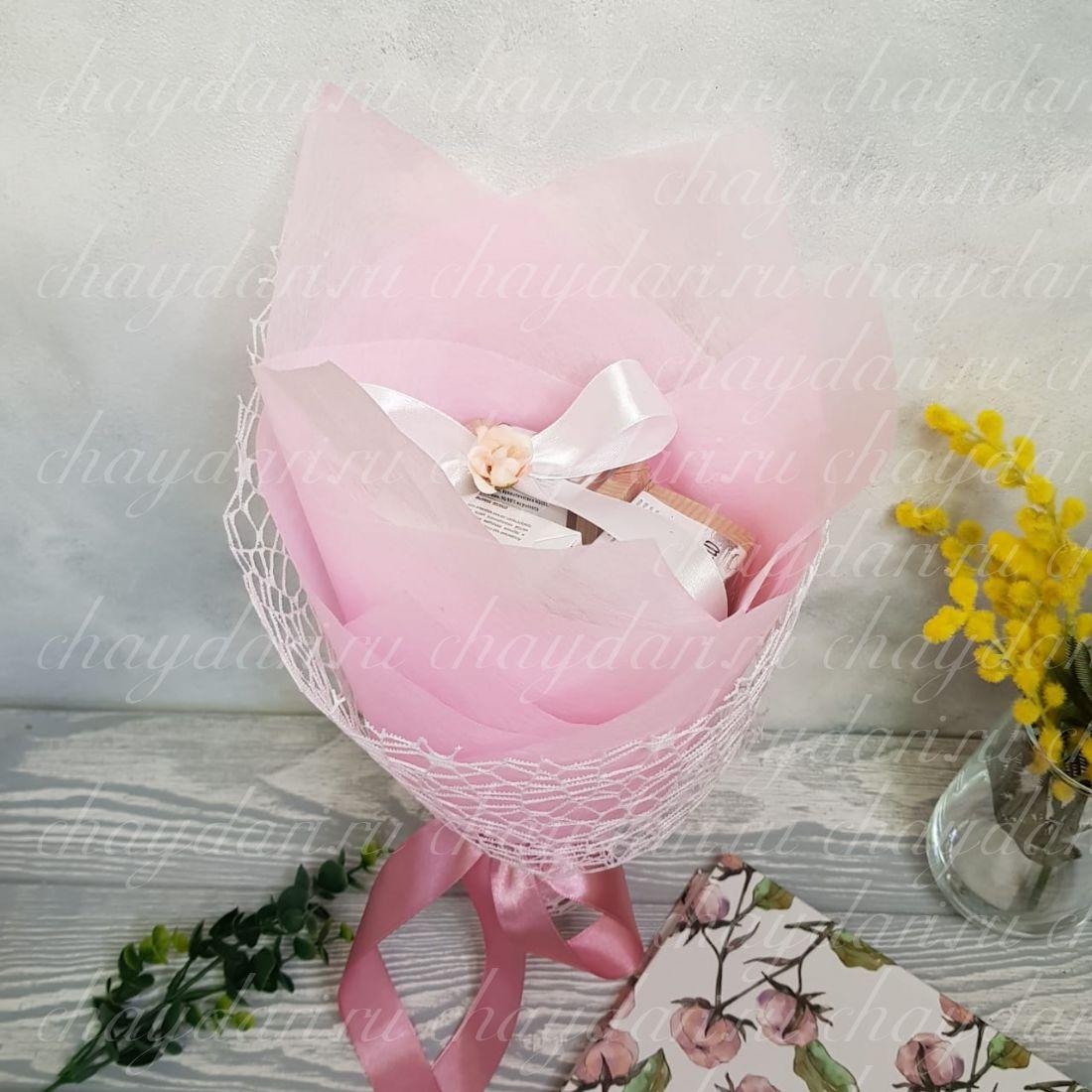 """Букет из чая """"Нежность весны"""""""