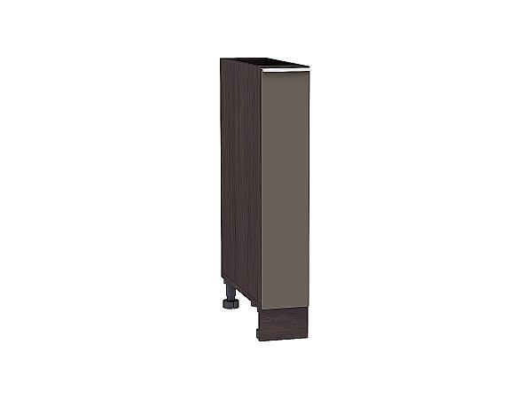 Шкаф нижний бутылочница Терра НБ150 (Смоки софт)