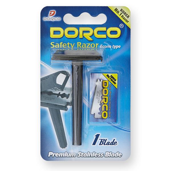 Dorco SGA-1000 бритвенный станок + 1 двустороннее лезвие
