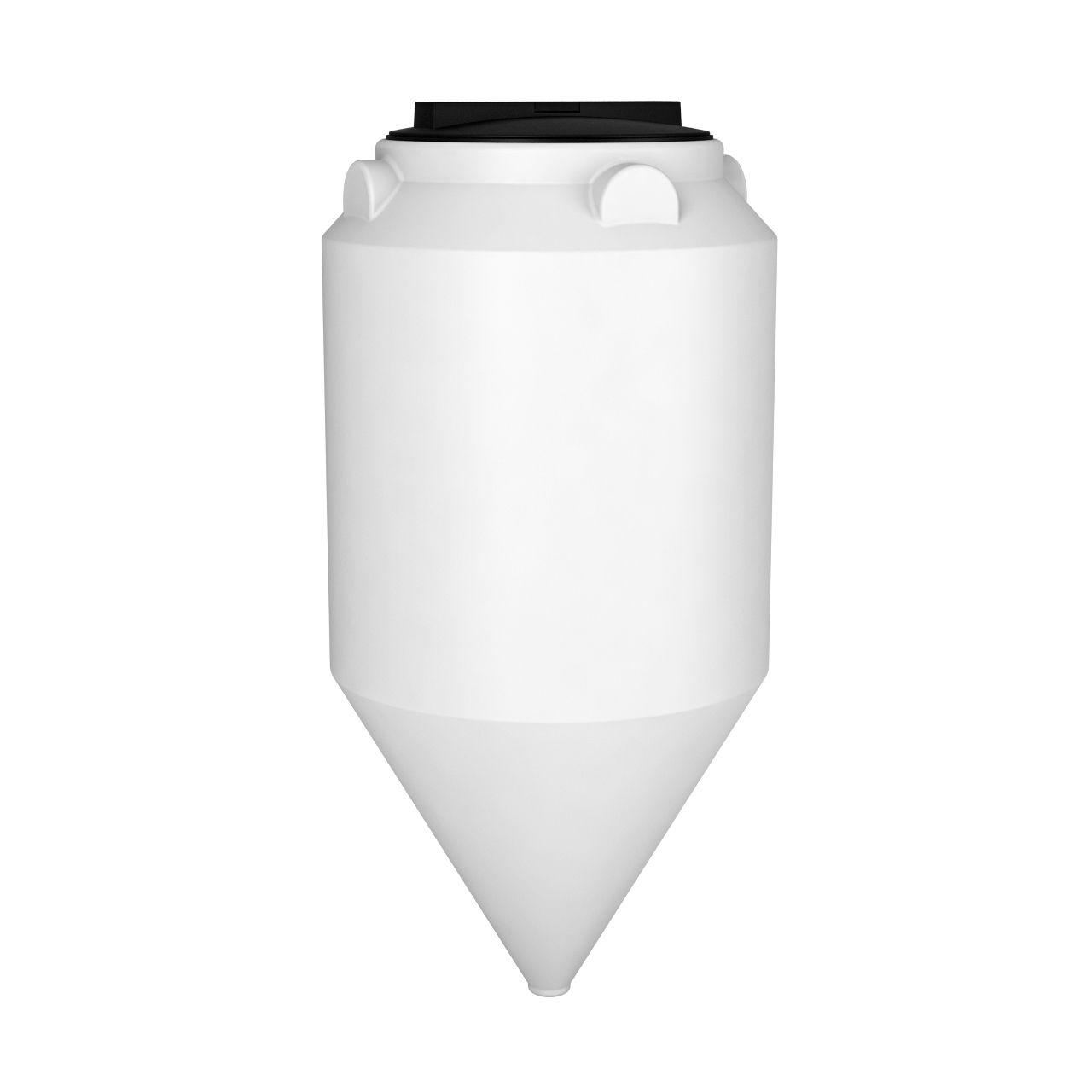 Емкость конусная ФМ 120 литров пластиковая