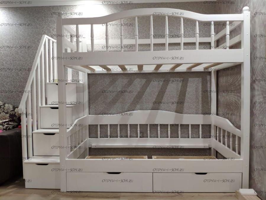 Кровать двухъярусная Лейла-2