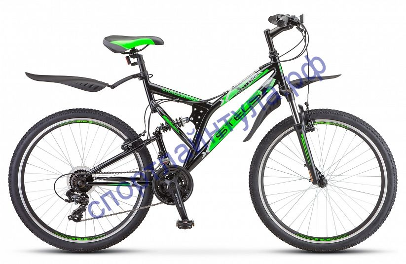 "Двухподвесный велосипед STELS Challenger V 26"" Z010"