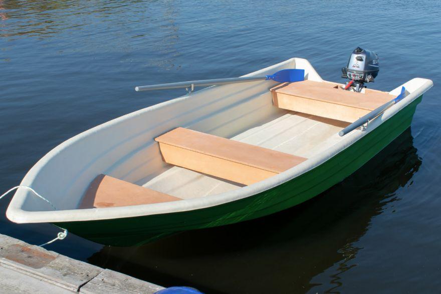 Моторная лодка ВИЗА Легант-425