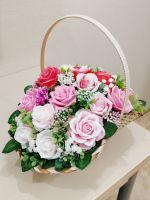 розы из мыла ручной работы