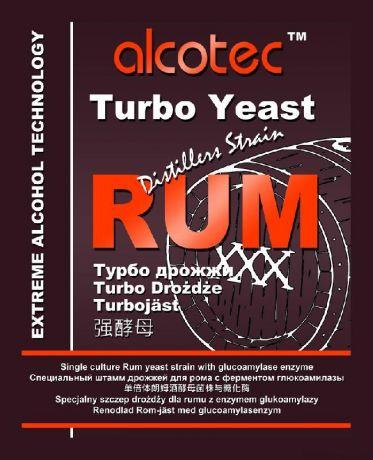 Спиртовые Турбо Дрожжи Alcotec Rum 73 гр
