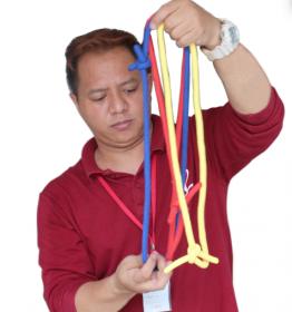 Три сцепленные верёвки - Rope PRO (пр-во Корея)