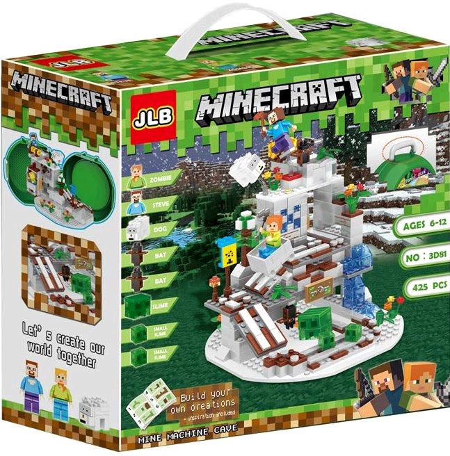 Конструктор JLB Minecraft 3D81 Горная шахта
