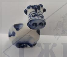 Коровка-Малышка ПРОМО 3х5,5х4см. min отгрузка- 100 шт.