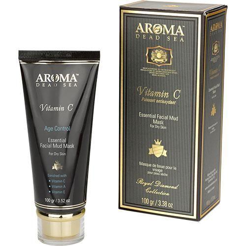 Лечебно-грязевая маска для чувствительной и проблемной кожи (акне) с витамином С, Aroma Dead Sea (Арома Дэд Си) 100 г