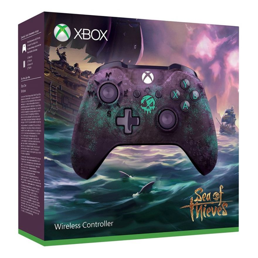 Microsoft Xbox One S Wireless Controller - Sea of Thieves Limited Edition