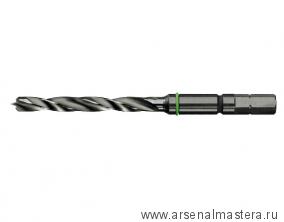 Сверло-бит удлин. спиральное по дереву Festool D 6 CE/W длина 97 мм 492515