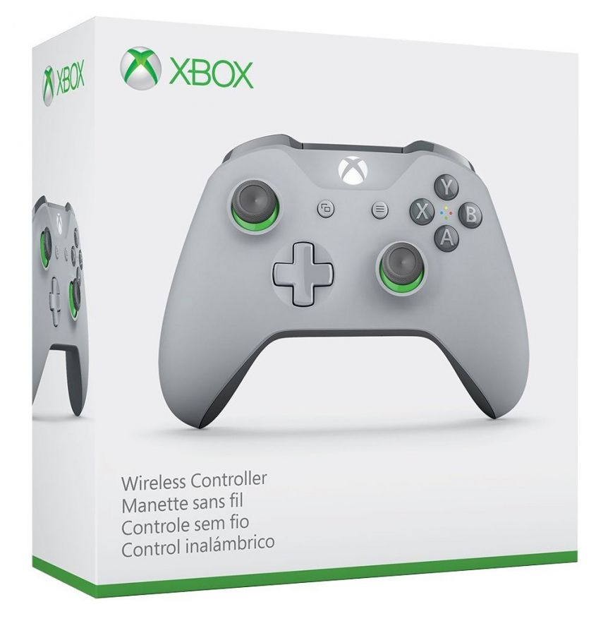 Геймпад Xbox One S Wireless Controller Gray (for Windows)