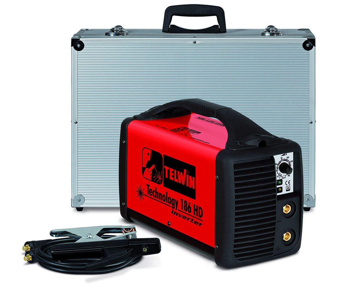 Сварочный инвертор TECHNOLOGY 186HD 230V ACX+ALU C.CASE