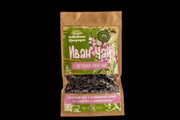 Иван-чай с цветками Иван-чая, 50г