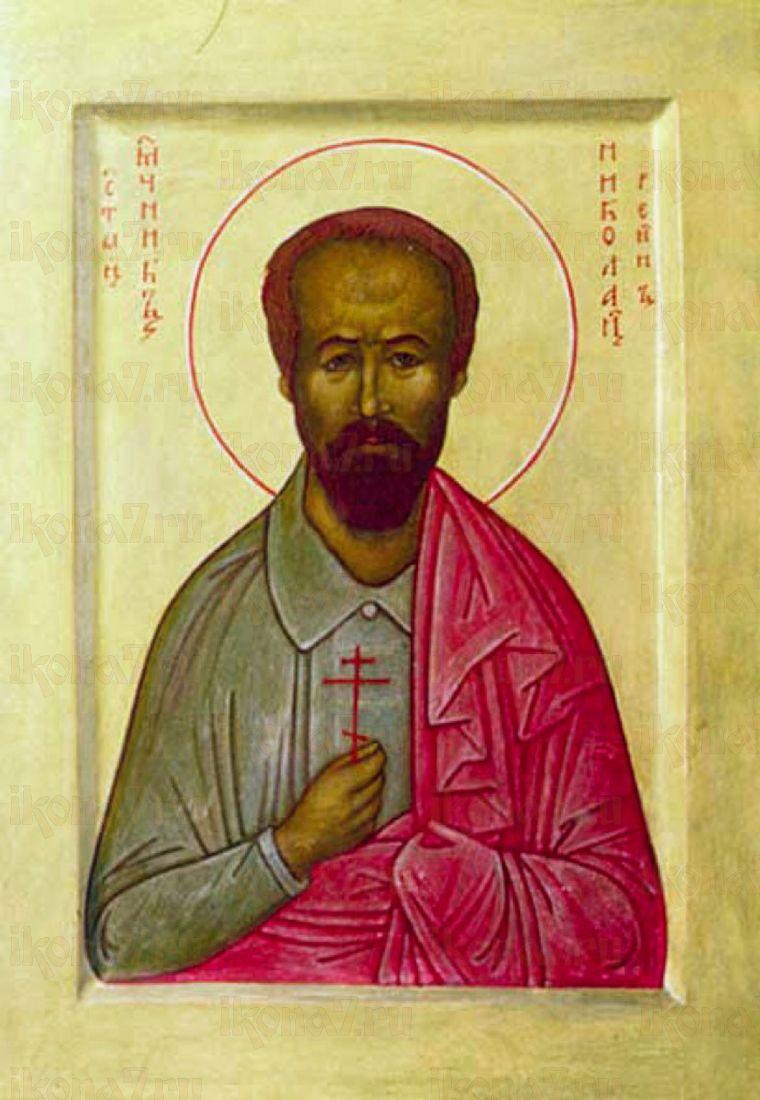 Икона Николай Бурлаков мученик