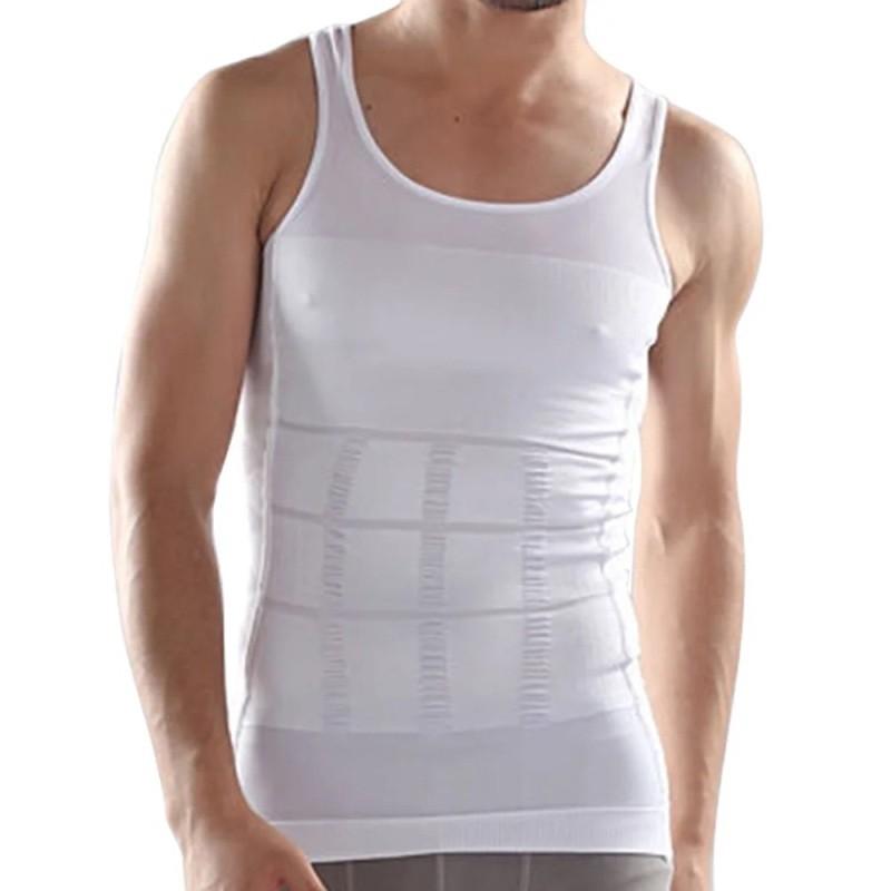 Корректирующее мужское белье Slim&Lift, размер XXL, цвет Белый