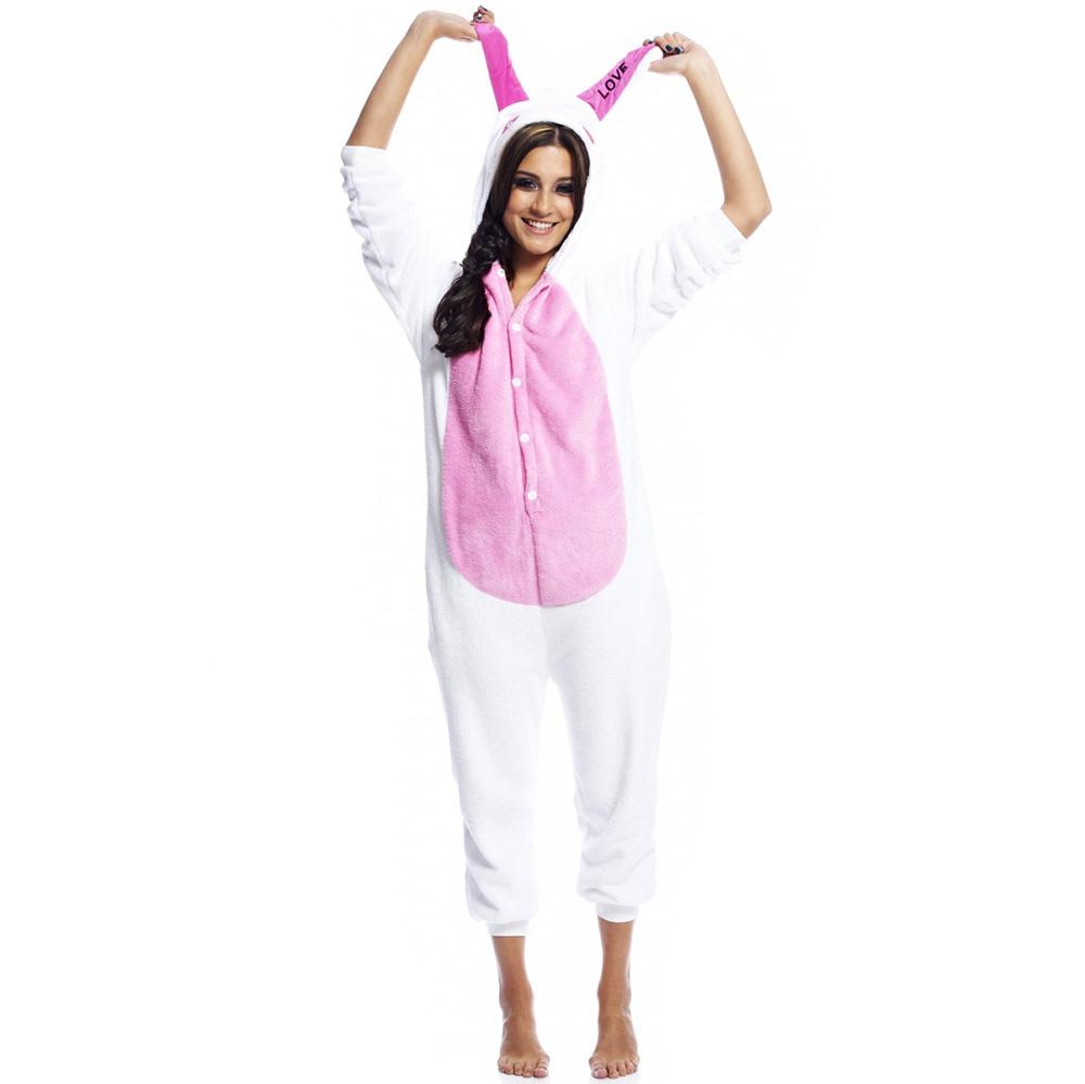 Пижама Кигуруми Кролик Love Розовый