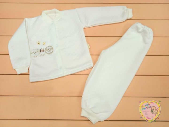 Костюм: кофта, штаны dV-KS013-KP (капитон белый)