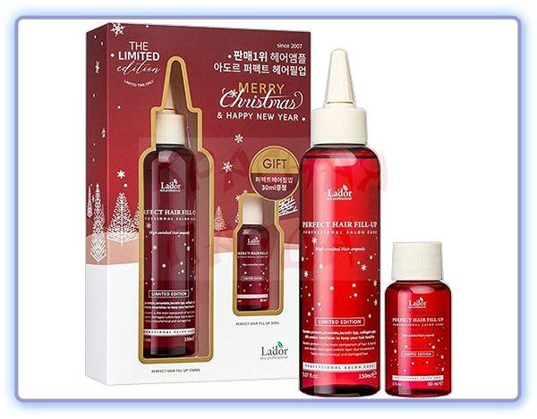 Подарочный набор филлеров для волос Lador Merry Christmas Perfect Hair Fill-Up