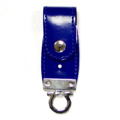 2GB USB-флэш накопитель Apexto U503C гладкая синяя кожа OEM
