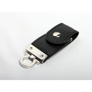 2GB USB-флэш накопитель Apexto U503C гладкая черная кожа OEM