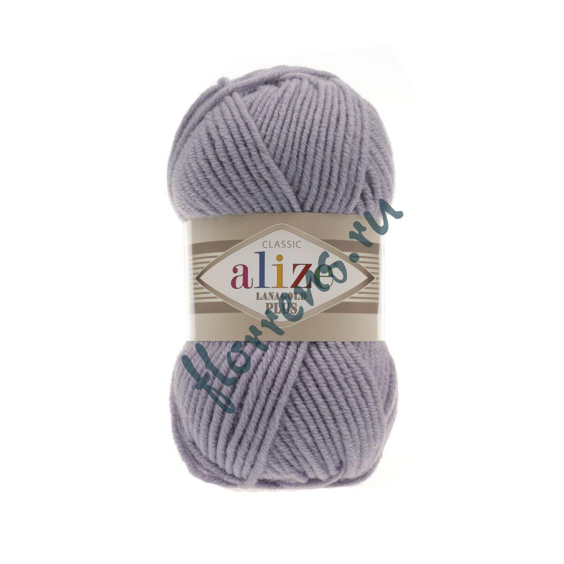 Пряжа Alize Lanagold Plus / 200 св. серый