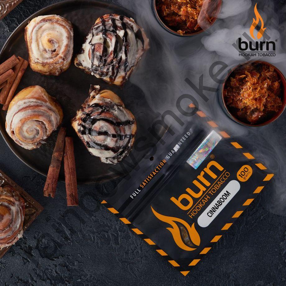 Burn 100 гр - Cinnabon (Булочка с корицей)