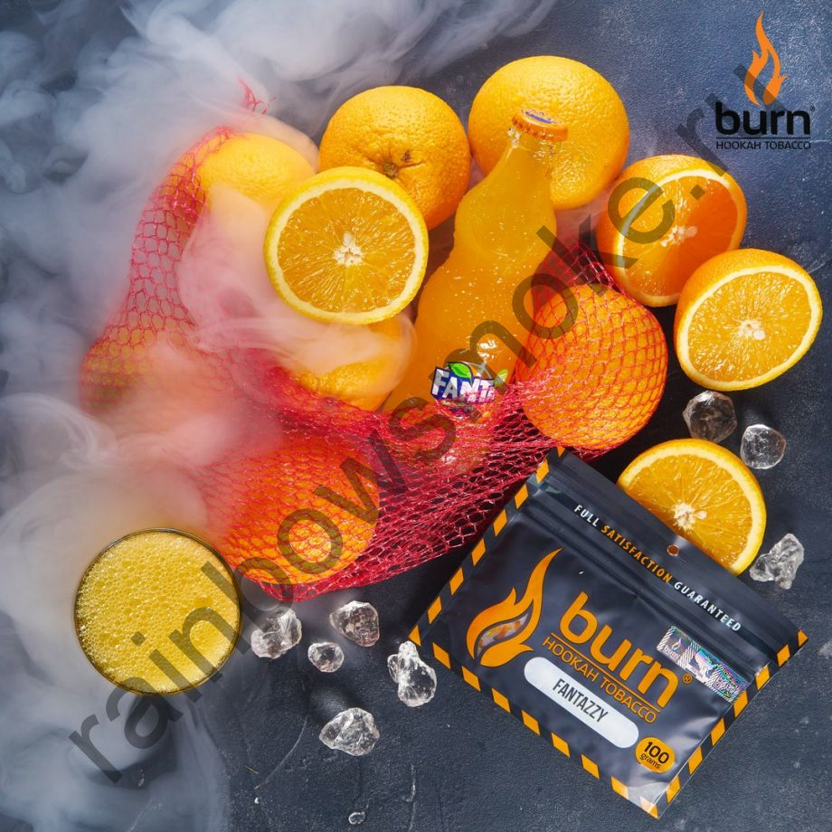 Burn 100 гр - Fantazzy (Апельсиновый лимонад)
