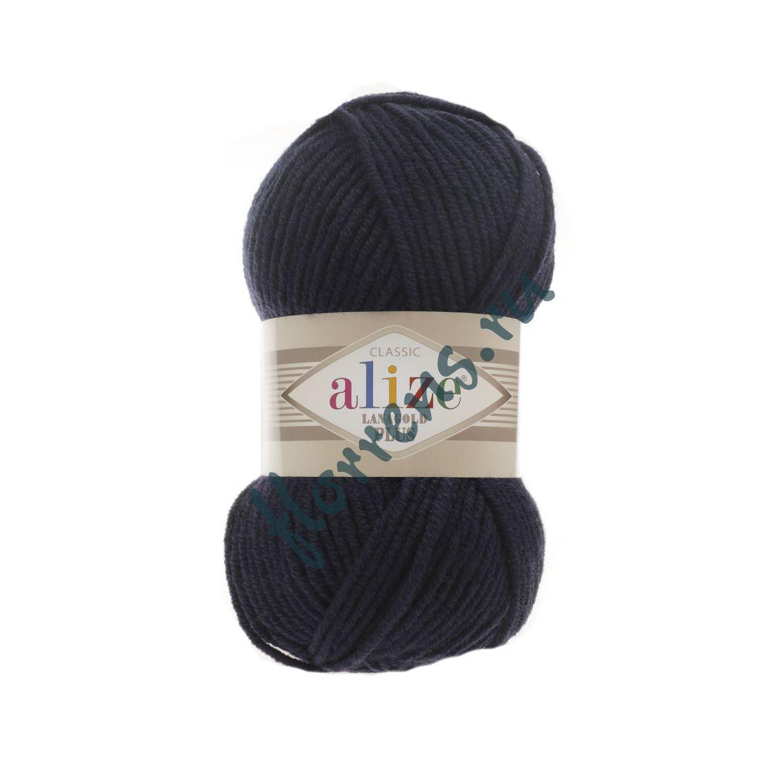 Пряжа Alize Lanagold Plus / 58 т. синий