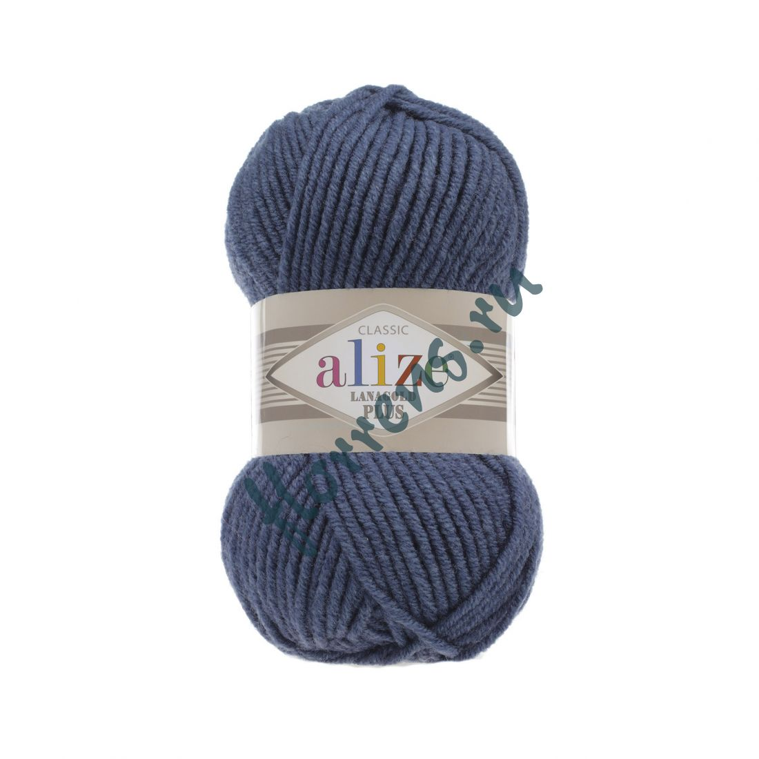 Пряжа Alize Lanagold Plus / 381 морская волна