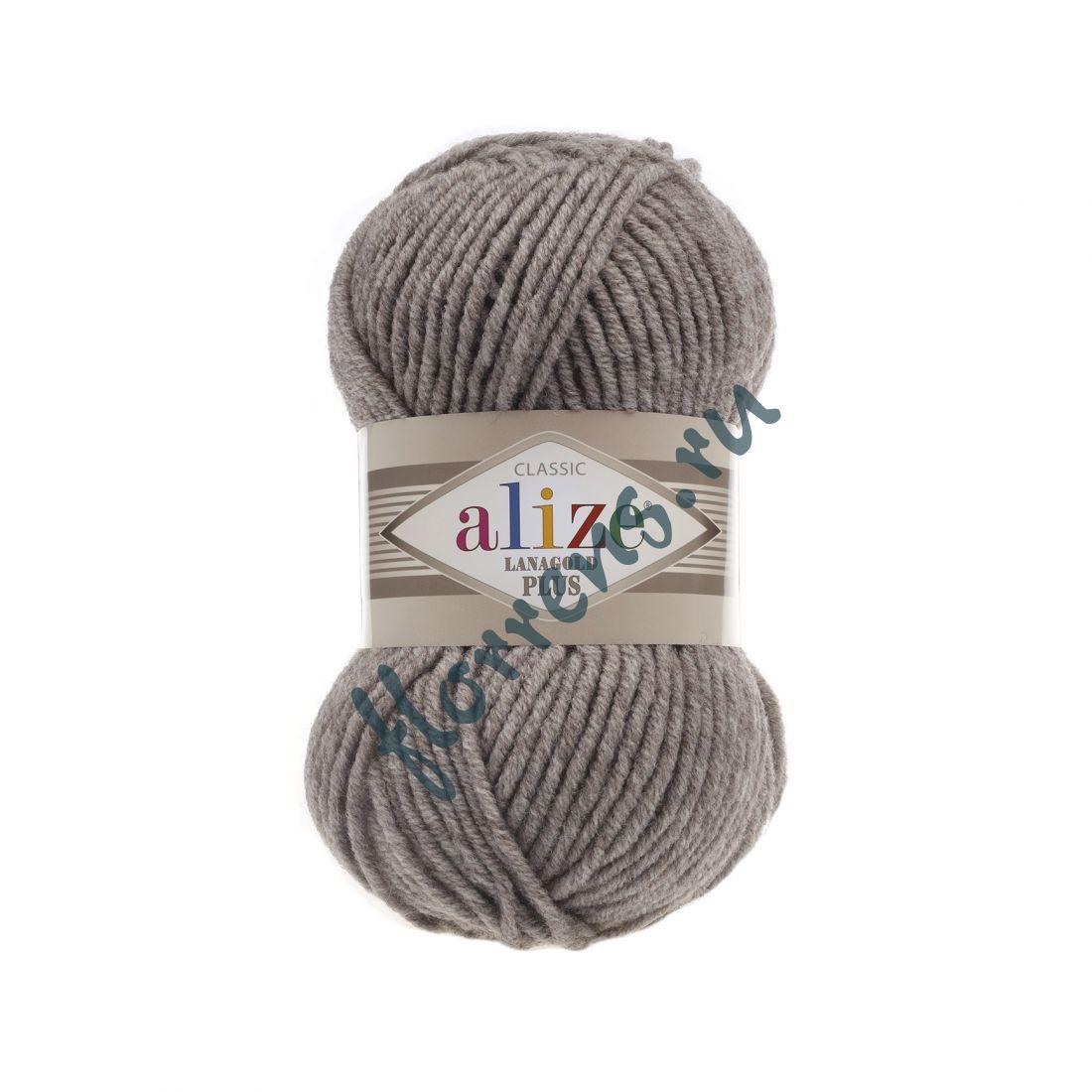 Пряжа Alize Lanagold Plus / 207 св. коричневый
