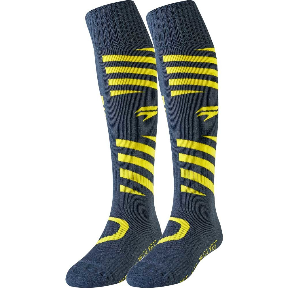 Shift - White Muse Sock Navy/Yellow носки, сине-желтые