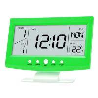Многофункциональные настольные часы KD-1819 (цвет зеленый)