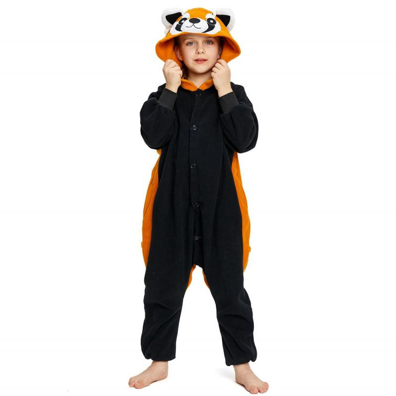 Детская Пижама Кигуруми Красная Панда